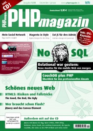 PHP Magazin 1.11 Cover